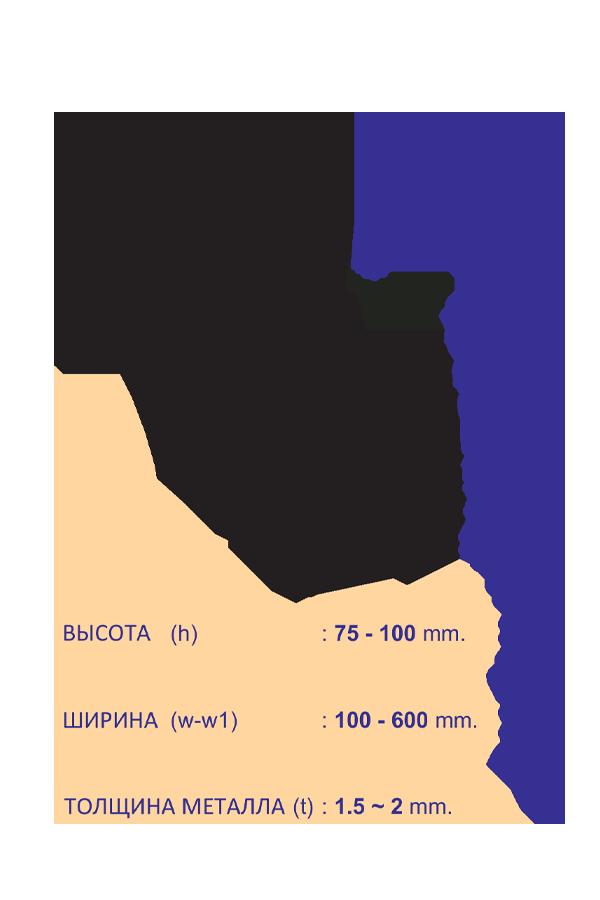 кабеленесущие системы лестничного типа внешний угловой отвод