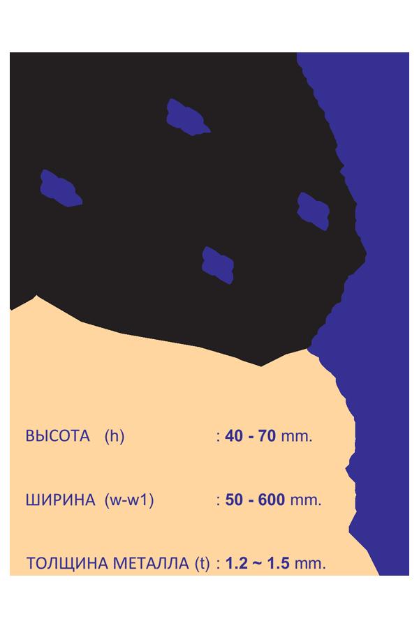 кабеленесущие системы лестничного типа двухсторонний переходник