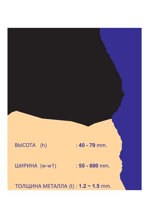 кабеленесущие системы лестничного типа односторонний переходник